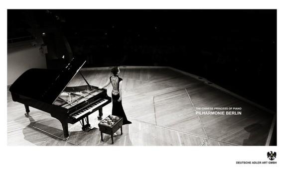 Philarmonie Berlin, Konzert Klavier, chinesische Künstlerin